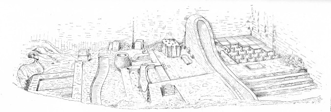 Aachen_Römerbad_Skizze_1900_festschrift